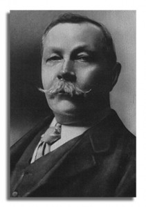 Sir Arthur Conan Doyle (22 May 1859 - 7 July 1930)