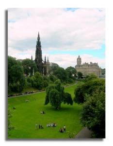 Edinburgh Princes Street Garden - Edinburgh