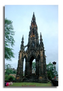Walter Scott Monument - Edinburgh