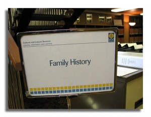 The Mitchell Library - Family History Resource Area-2007