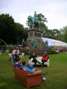 Edinburgh International Book Festival - Charlotte Square Photo by TimDuncan – Source Wikipedia