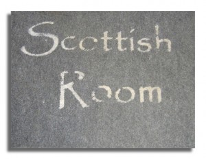 Scottish Room - The Book Shop - Wigtown