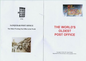 The World's Oldest Post Office - Sanquhar - Scotland