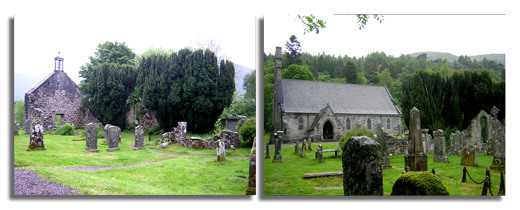 Balquhidder Romantic Churchyard