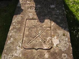Symbols on Reverend Kirk tomb