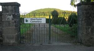 Aberfoyle Cemetary Gate