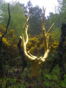 Broceliande forest The golden tree Source : Wikipedia