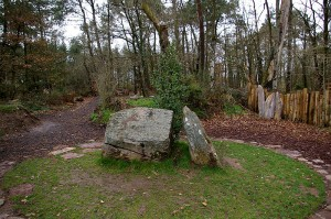 Broceliande forest Merlin's grave - Source : Wikipedia