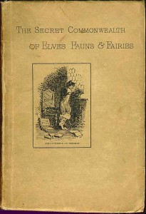 The Secret Commonwealth of Elves, Fauns &amp; Fairies by Robert Kirk1893 edition