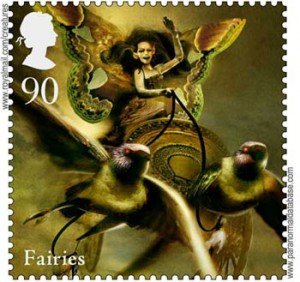 GB Mythical creatures  Fairies June 16 2009 postge stamps