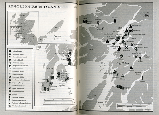 The Lore of Scotland Jennifer Westwood & Sophia Kingshill Argyllshire & Islands