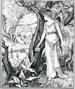 2008 Dover edition H.J. Ford Illustration