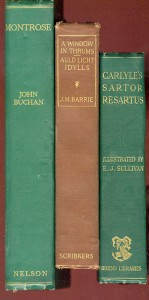 Scottish Authors - John Buchan - Thomas Carlyle - James M. Barrie
