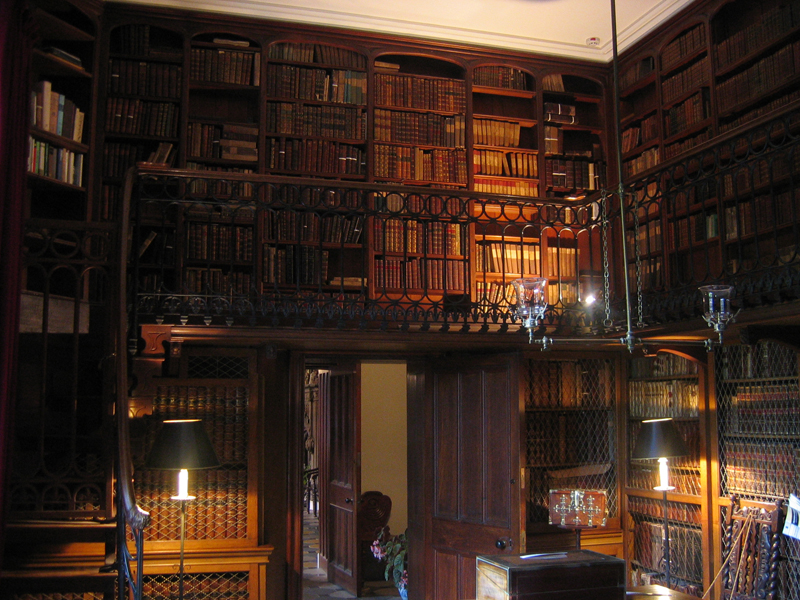 Abbotsford Sir Walter Scott's study and library