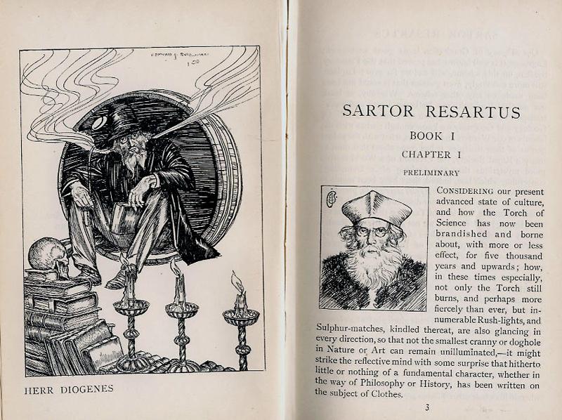 Sartor Resartus Illustration by Edmund J Sullivan