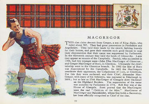 MacGregor Tartan - <i>The Scottish Tartans</i>