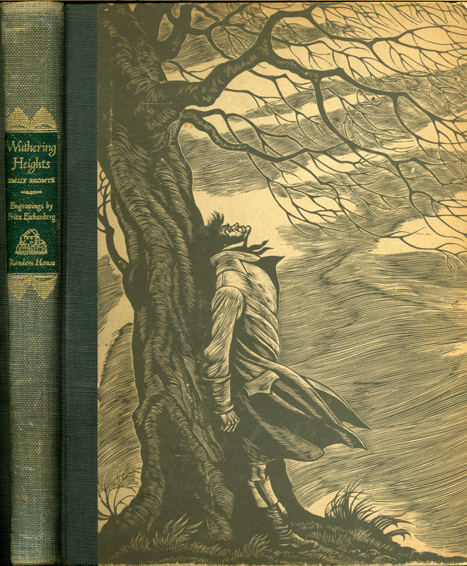 Wuthering Heights Emily Bront Illustrated with wood engravings by Fritz Eichenberg Random House Publishers 1945