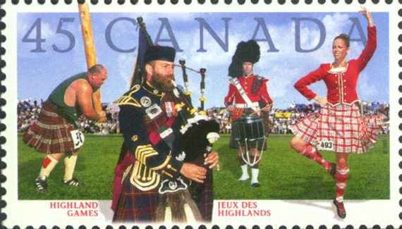bagpipes-on-stamps