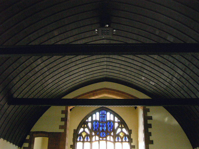 Queen's Cross Church Glasgow Ark Boat Ceiling