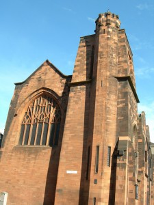 Queen's Cross Church Glasgow Scotland Mackintosh design
