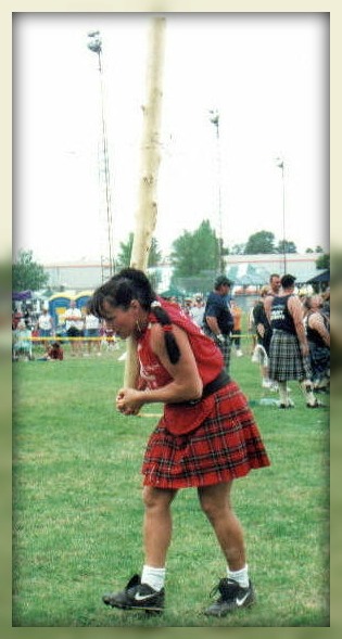 Josee Morneau Canadian Champion Fergus Highland Games