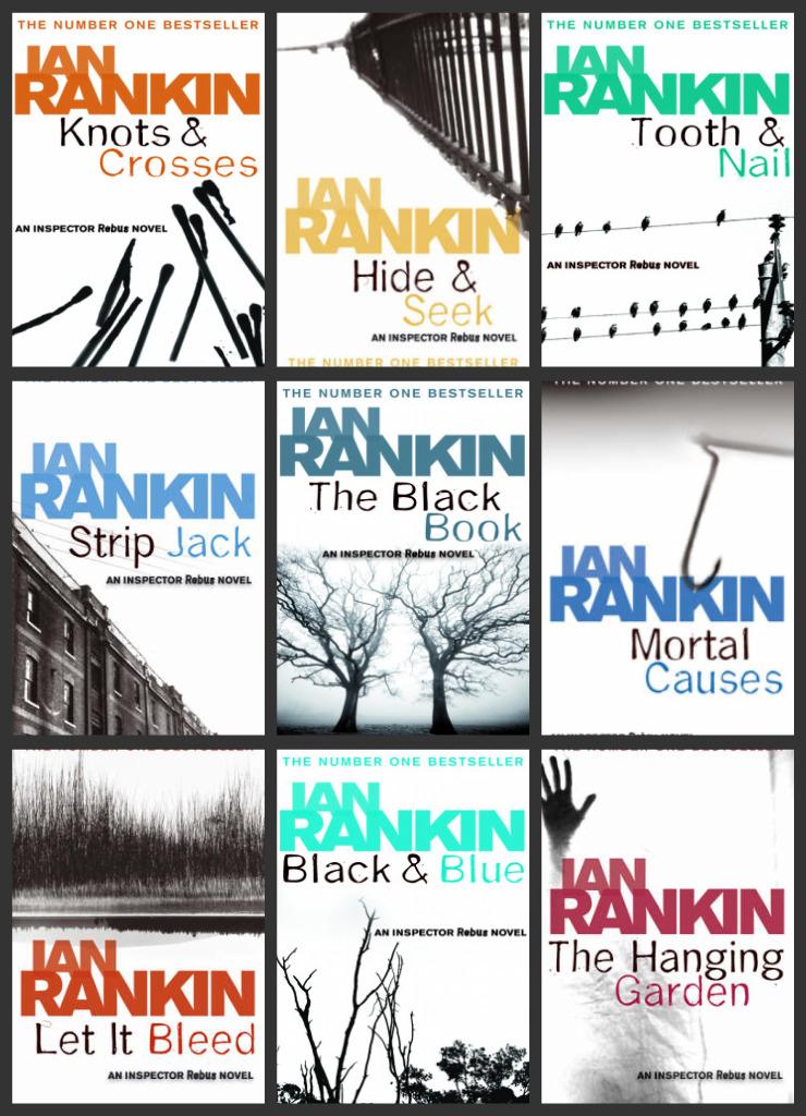 Inspector Rebus - Ian Rankin - Scottish Crime Mystery Novel