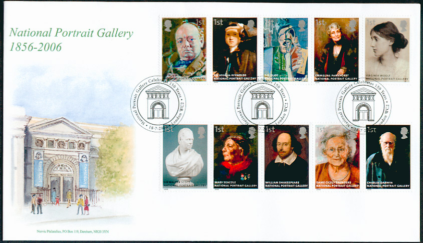 Great Britain FDC Literary Anniversaries Stamp Issues