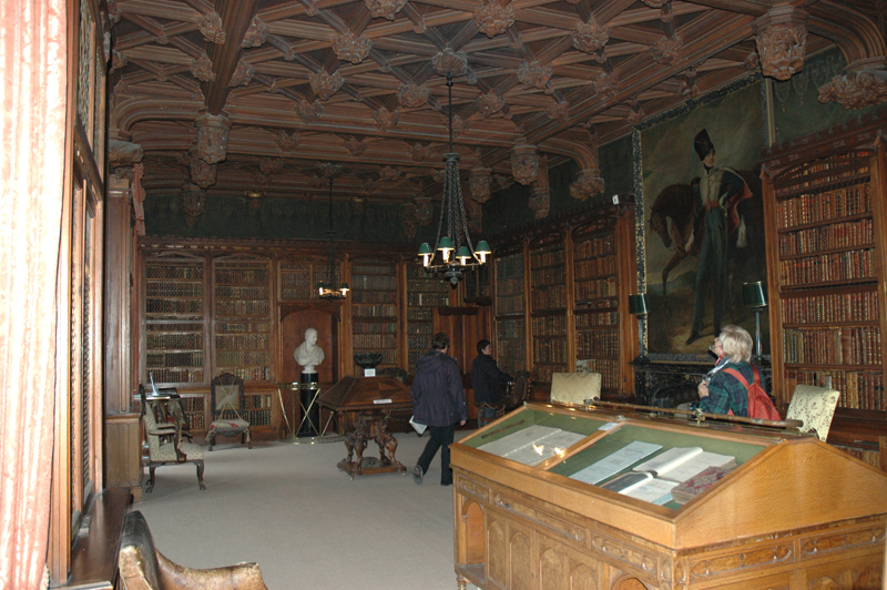 Abbotsford Sir Walter Scott's home The Library Scotland The Borders