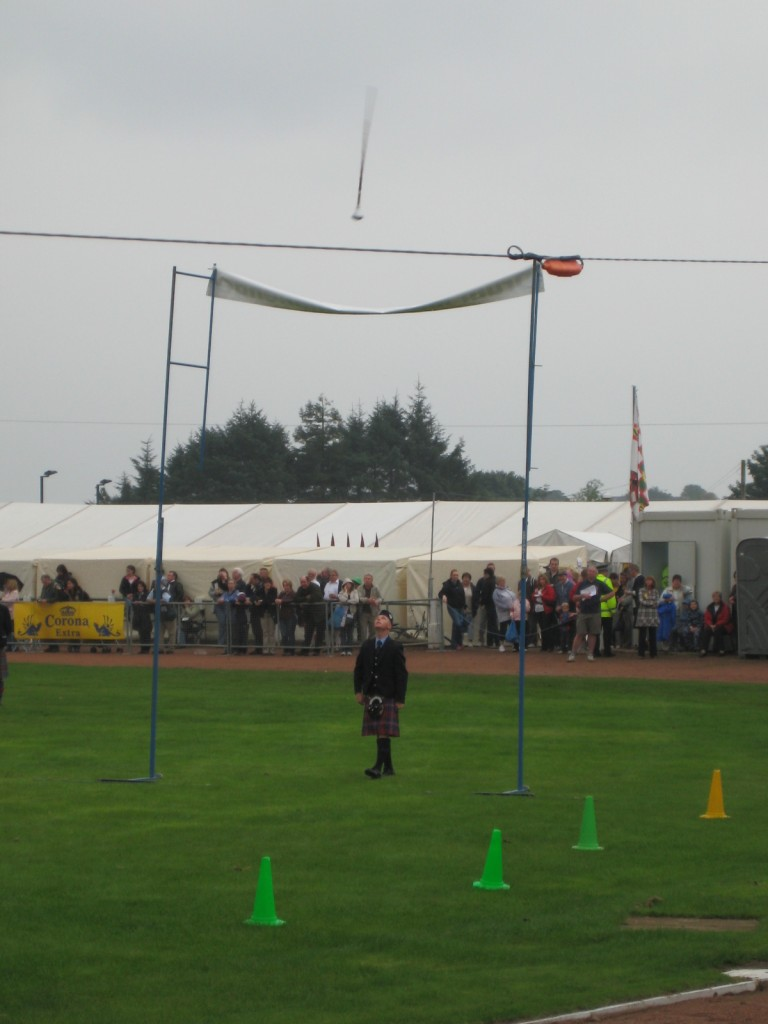 Cowal Highland Scottish Highland Games Hammer Throwing