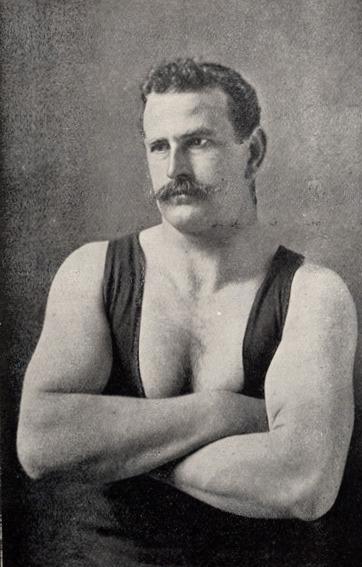 James Morrison Men of Muscle Scottish Highland Games