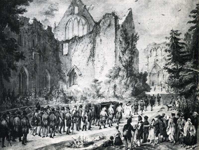 Scott's funeral procession
