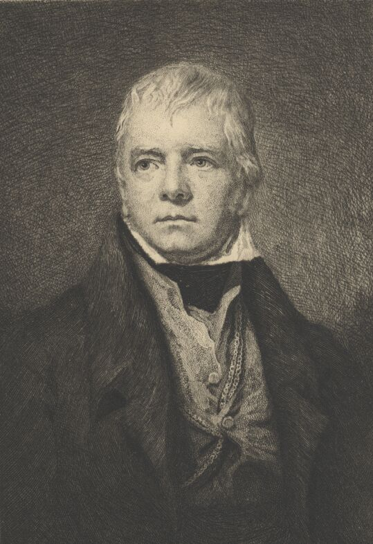 Walter Scott Portrait