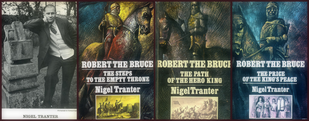 Nigel Tranter The Bruce Trilogy Book Covers