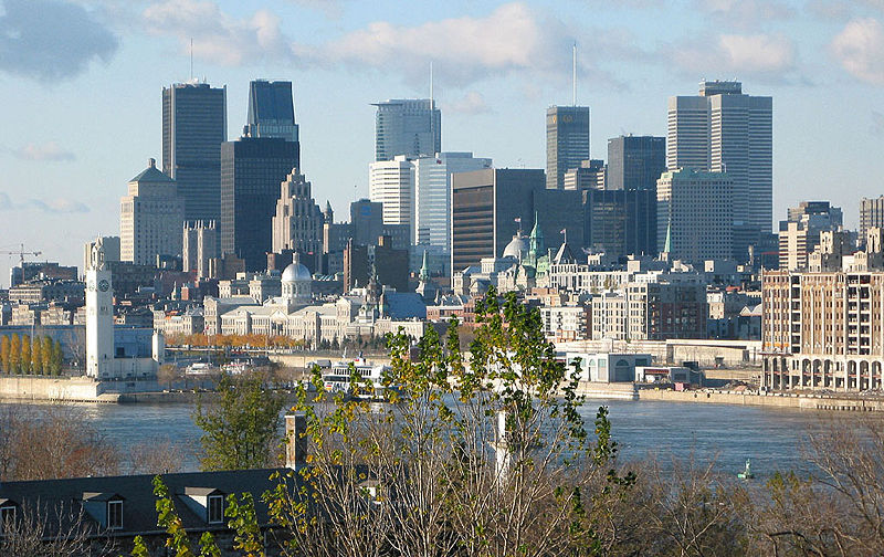 Downtown Montréal (Wikipedia)