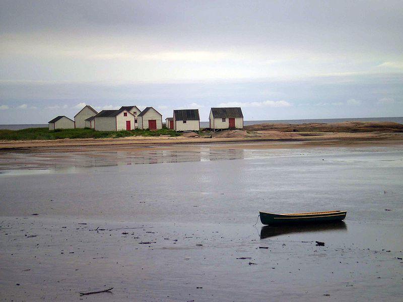 Original fishermen huts (Les magasins du Galet) - Natashquan, Province of Quebec. Source: Wikipedia