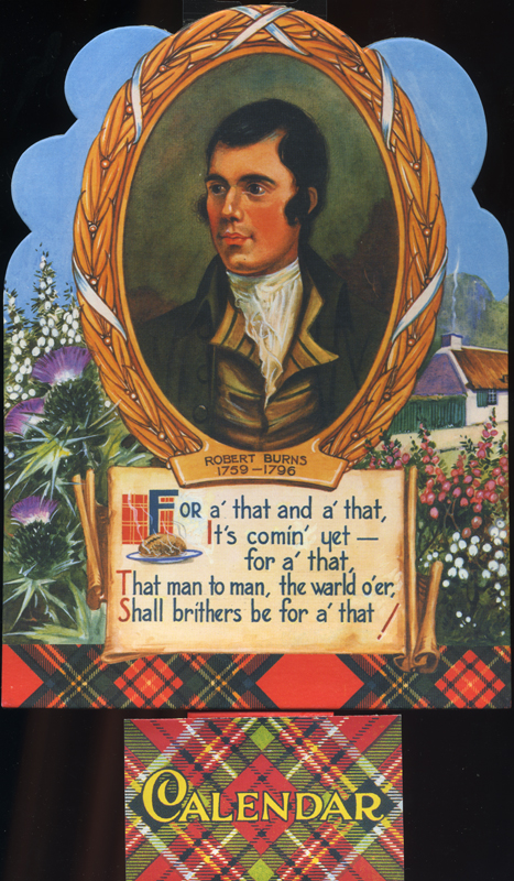 Robert Burns - 2009 Calendar