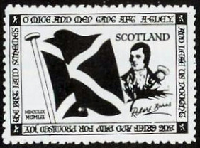 Robert Burns Poster Stamp