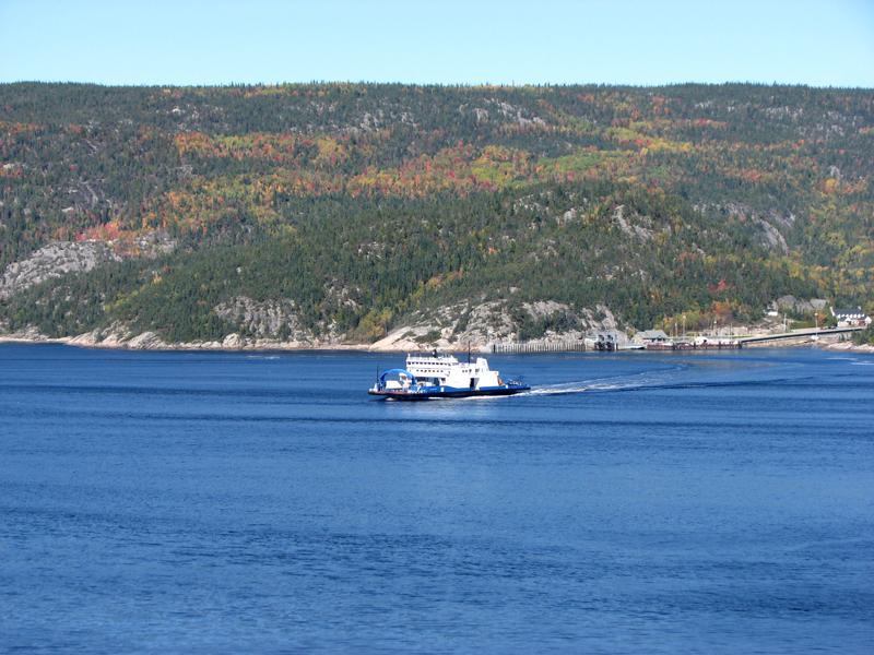 Ferry Tadoussac Baie Sainte-Catherine Quebec PQ