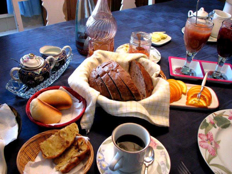 Quebec PQ Grandes-Bergeronnes Gîte La P'tite Baleine Breakfast