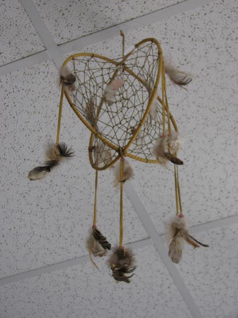 Indian dream catcher Essipit Innu Indian Reserve Quebec QC