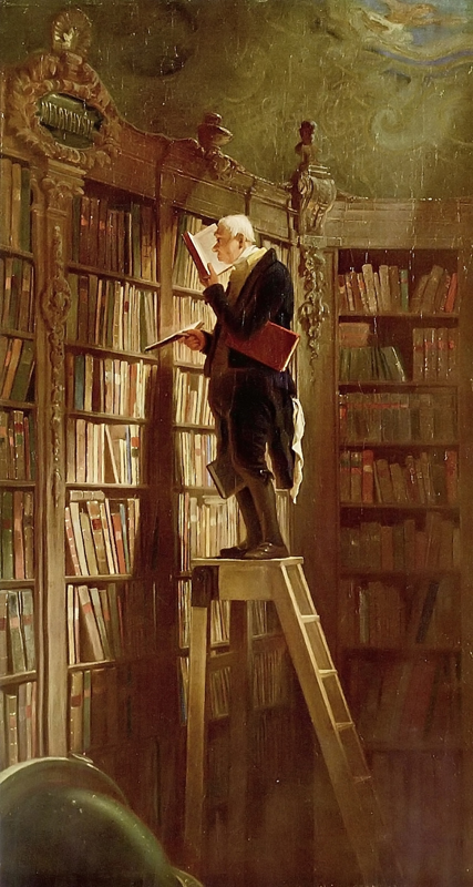 Carl Spitzweg  The Bookworm c.1850