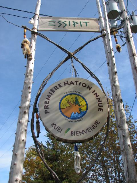 Essipit Première Nation Innue Bienvenue Quebec 2010