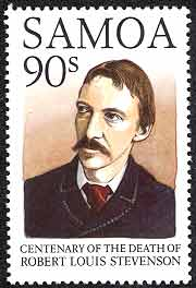 Robert Louis Stevenson Samoa Stamp 1990 100th Ann Death Portrait Scott 859Robert Louis Stevenson Samoa Stamp 1990 100th Ann Death Portrait Scott 859Robert Louis Stevenson Samoa Stamp 1990 100th Ann Death Portrait Scott 859