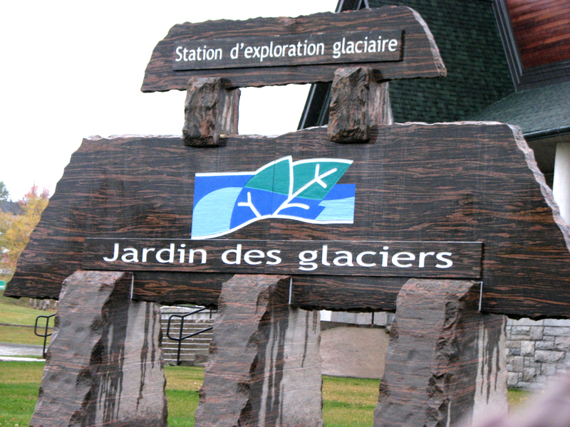 Jardin des Glaciers in Baie-Comeau, Province of Quebec | Photo: Scotiana 2010