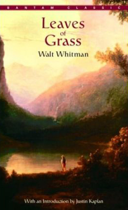 Walt Whitman Leaves of Grass Bantam Classics 1983