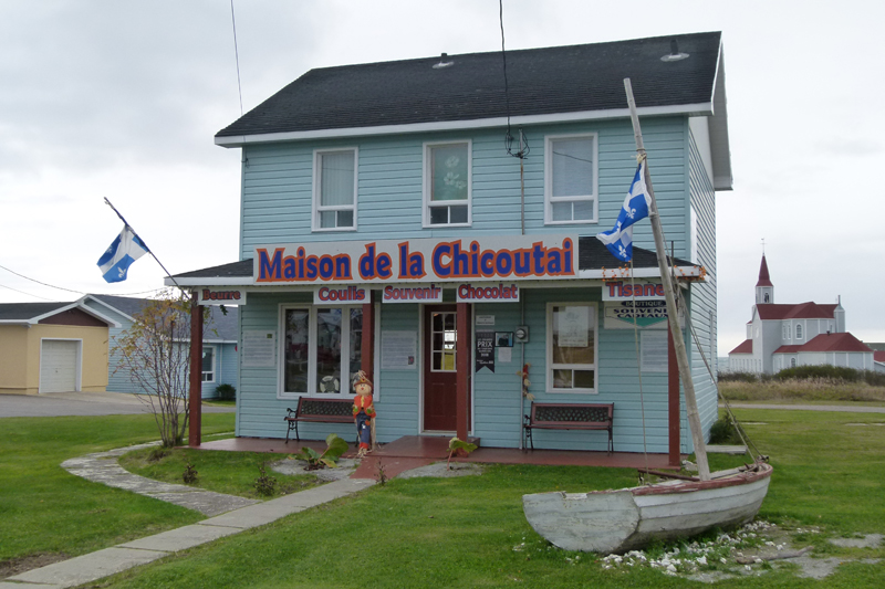 Rivire-au-Tonnerre Maison de la Chicoutai Road 138 Cte-Nord Quebec PC Scotiana 2010