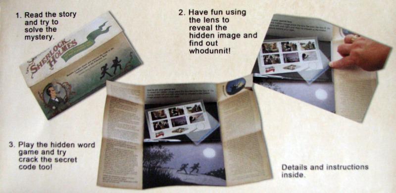 Sherlock Holmes Mystery Pack - Alderney Postage Stamps