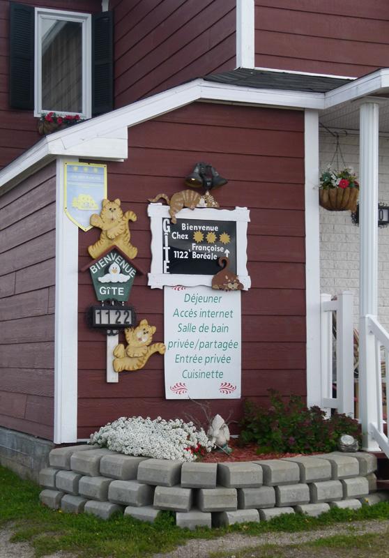 Gîte 'Chez Françoise' Havre-Saint-Pierre Côte-Nord Quebec PQ Scotiana 2010
