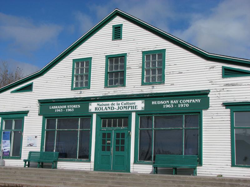 Maison de la culture Roland-Jomphe Havre-Saint Pierre Côte-Nord Quebec PQ Scotiana 2010