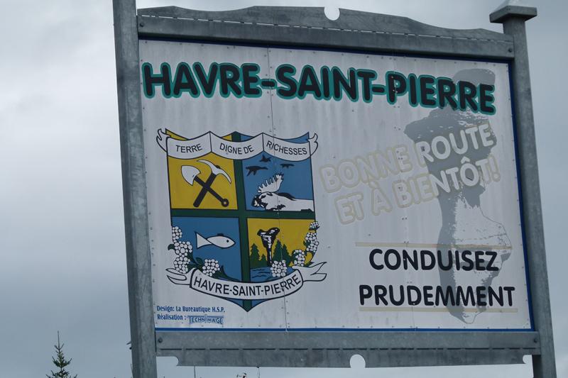 Havre-Saint-Pierre arms Côte-Nord Quebec PQ Scotiana 2010